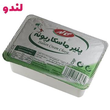 ماسکارپونه یک پنیر ایتالیایی پرچربی و دارای خامهٔ سه لایه میباشد دارای رنگ شیری میباشد. ماسکارپونه جزو مواد اصلی تهیهٔ تیرامیسو میباشد.